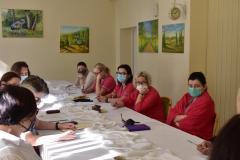 Zdjęcie przedstawia  uczestników zebrania w ramach Kontroli Zarządczej