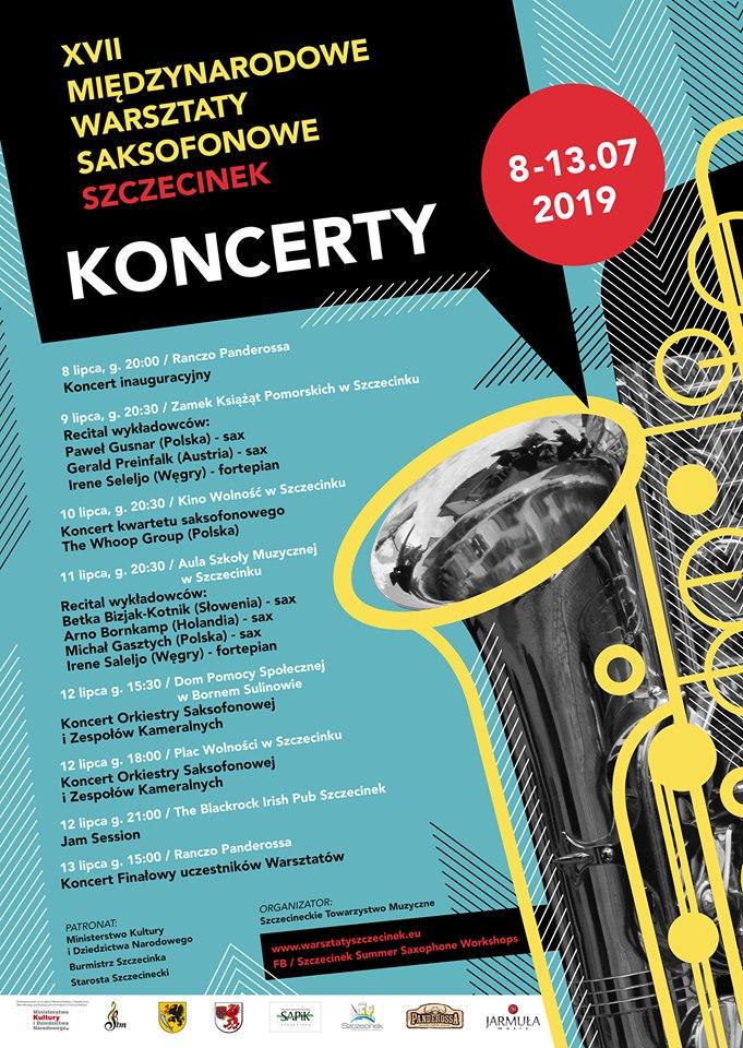 XVII Międzynarodowe Warsztaty Saksofonowe
